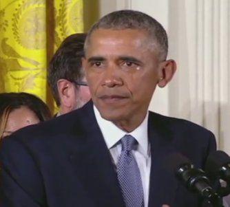 Presidente Barack Obama lloró al presentar su propuesta de  orden ejecutiva