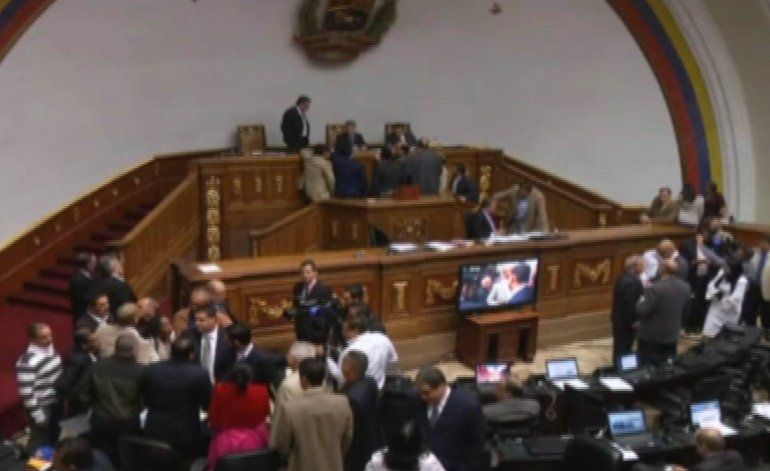 Henry Ramos anunció el nombramiento de los magistrados de la sala constitucional
