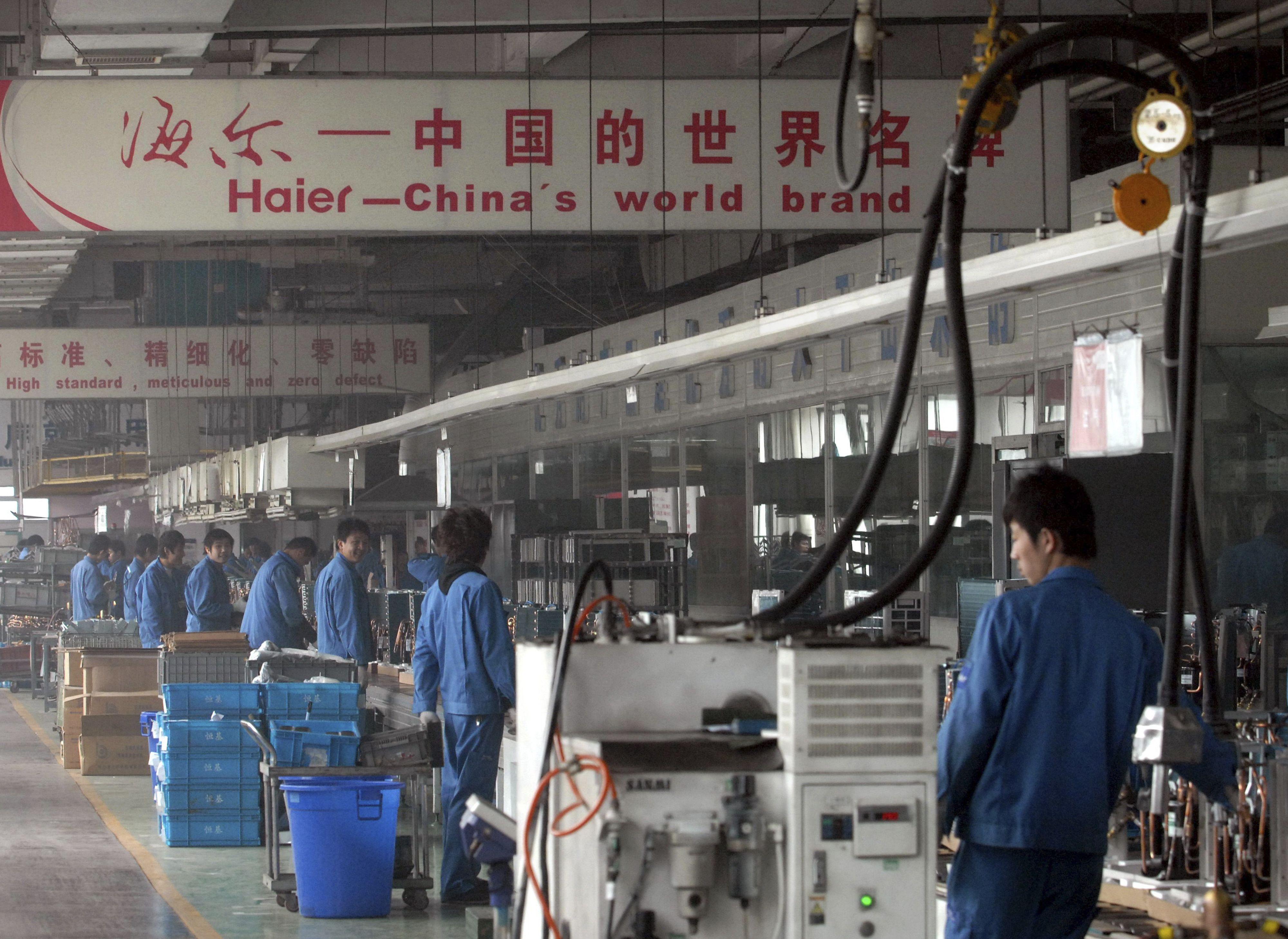 China Haier comprará división de electrodomésticos de GE