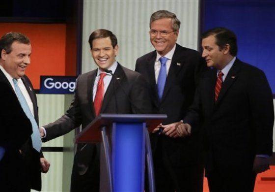 Revelan resultados de nuevas encuestas un día antes de las primarias en New Hampshire