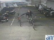 ladron de bicicletas vuelva atacar otro edificio en miami beach