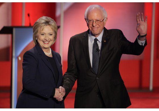 Bernie Sanders y Hillary Clinton se enfrentan una vez más en un debate televisado