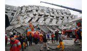 LO ULTIMO: 100 desaparecidos por el sismo de Taiwán