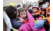 Sismo en Taiwán: 11 muertos, cientos de rescatados y heridos