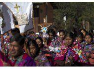 el papa francisco celebrara la iglesia indigena en mexico