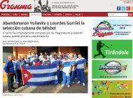 granma confirma que yulieski y lourdes jr. abandonan la seleccion cubana