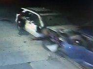 dueno de vehiculo involucrado en un choque y fuga se presenta  en la policia de miami
