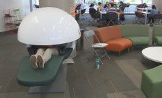 Universidad de Miami instala cápsulas para siestas