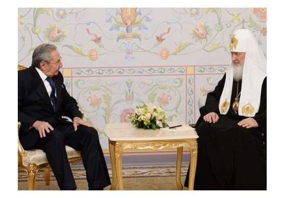 Patriarca ruso se reunirá en Cuba con Fidel y Raúl Castro