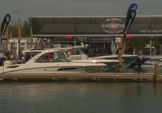 Inicia show internacional de botes en Miami