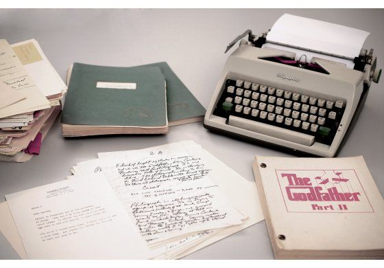 A la venta el archivo del autor de El padrino, Mario Puzo