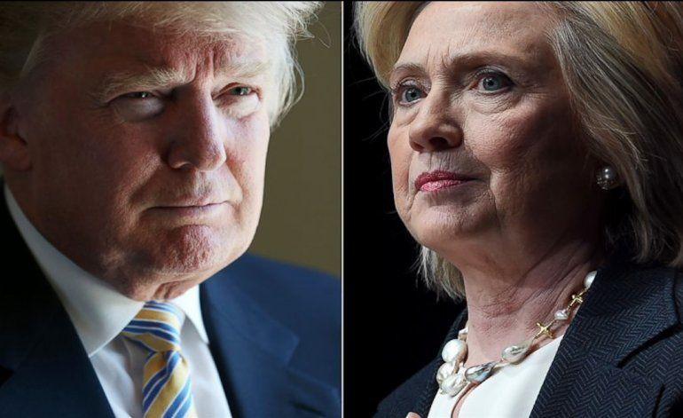 Hillary Clinton supera a Donald Trump en recaudación de campaña