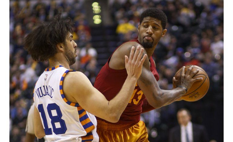George anota 27 puntos y Pacers superan a Knicks