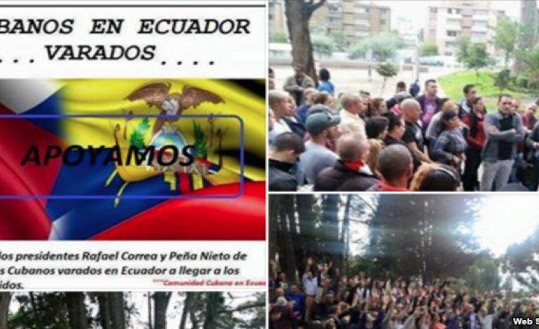 Miles de cubanos en Ecuador quieren plan similar al de Costa Rica para llegar a EEUU