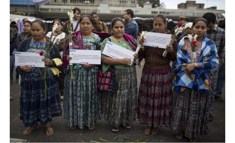Guatemala: Mujeres violadas piden condenar a victimarios