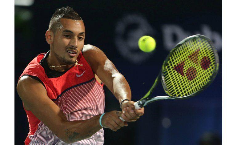 Djokovic abandona partido en cuartos de final de Dubai