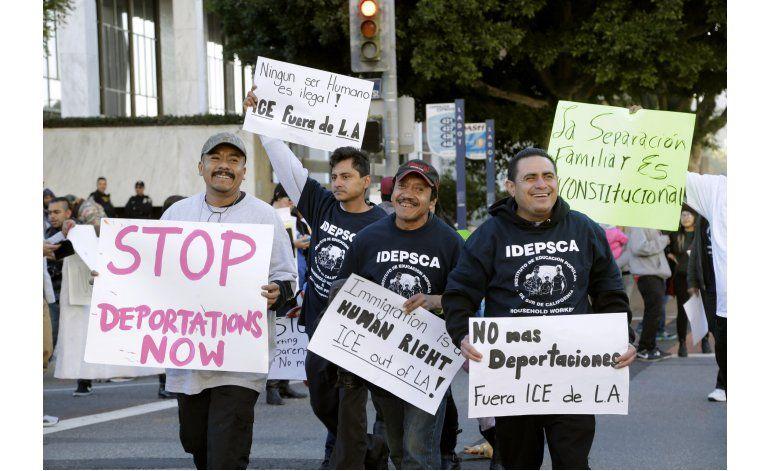 Vigente la política sobre migrantes convictos en EEUU