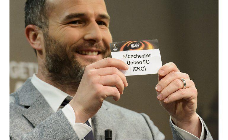 Manchester United vs. Liverpool en octavos de Liga Europa