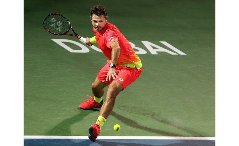 Wawrinka-Baghdatis en la final del torneo de Dubai