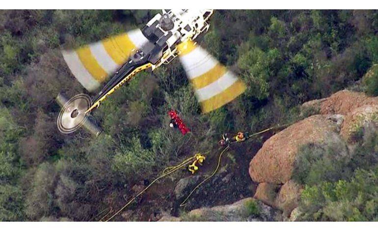 California: muere reclusa combatiendo un incendio