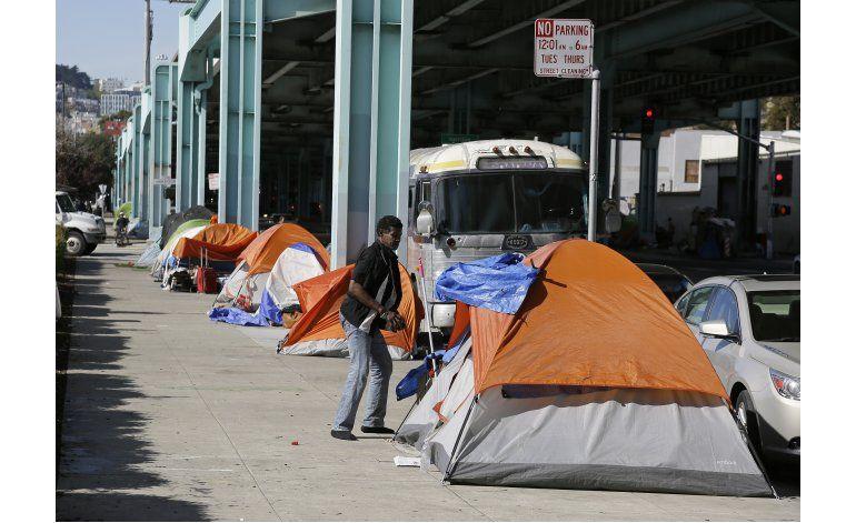 Expira tiempo para indigentes en campamento en San Francisco