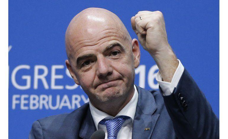 Fuente AP: Infantino ganará menos que el número 2 de FIFA