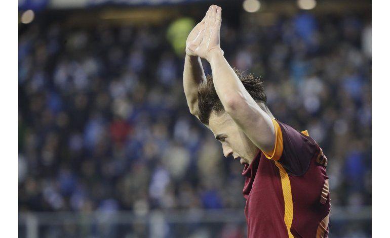 Roma vence al Empoli y trepa al tercer puesto en Serie A