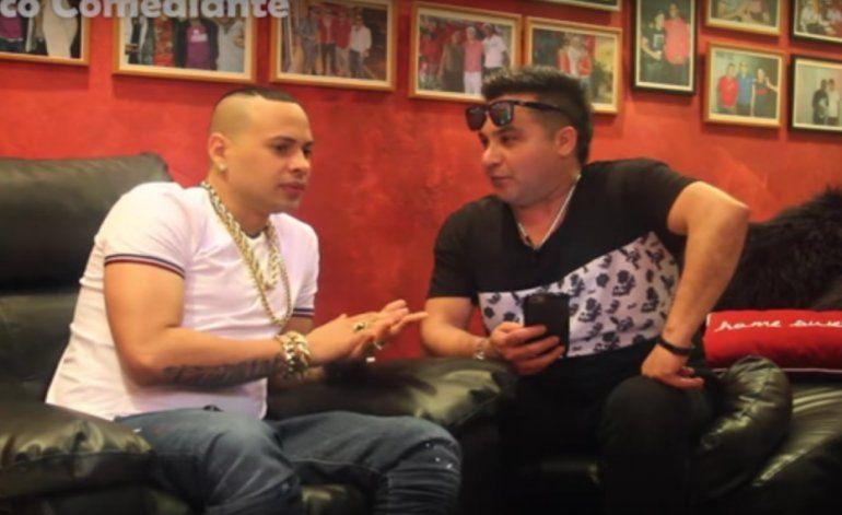 Entrevista del comediante Robertico a Jacob Forever