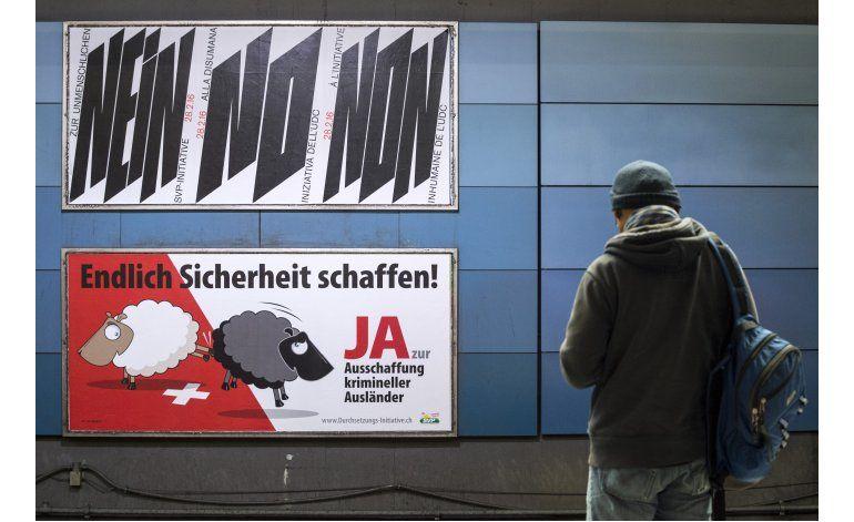 Suiza rechaza expulsar a extranjeros que violen la ley