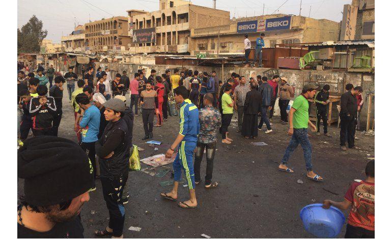Ataques y explosiones en Bagdad dejan decenas de muertos