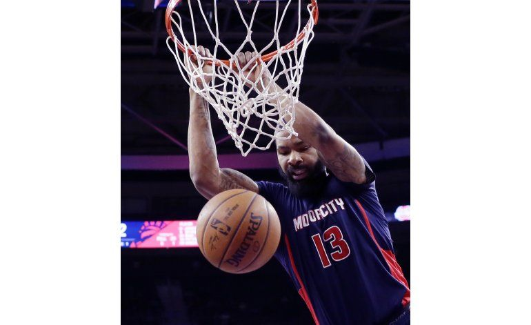 Pistons se aprovechan de ausencia de Lowry con Raptors