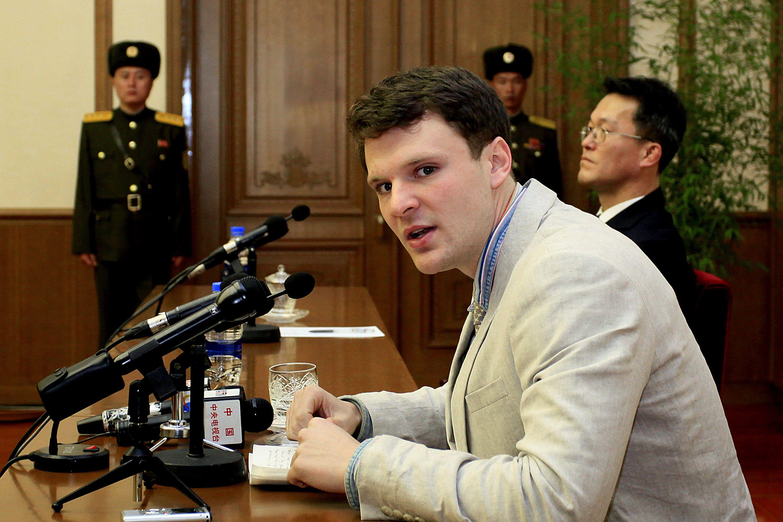 North Korea American Student