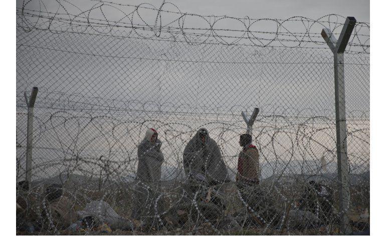 Tensiones en frontera entre Grecia y Macedonia