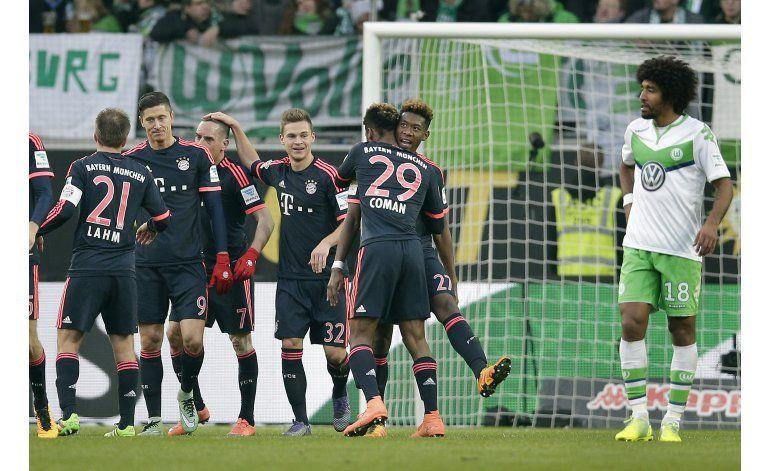 Bayern recibe a Mainz, Dortmund viaja a Darmstadt