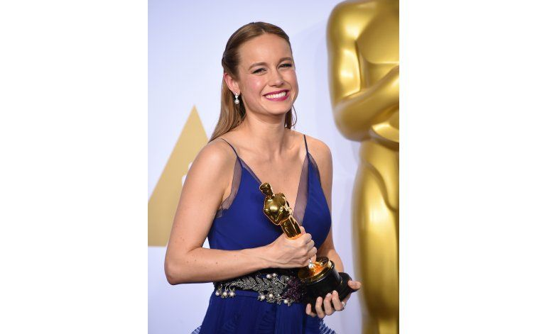 La ganadora del Oscar Brie Larson encuentra su voz en Room