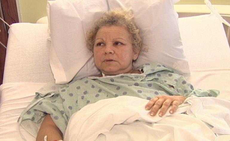 Anciana recibe trasplante de corazón