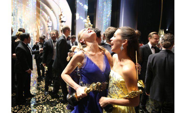 Los momentos tras bambalinas en los Oscar