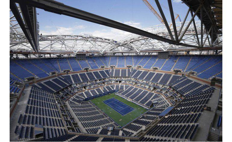 Con nuevo techo, el US Open quiere un torneo al aire libre