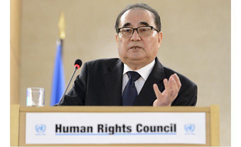 Norcorea rechaza toda resolución sobre derechos humanos