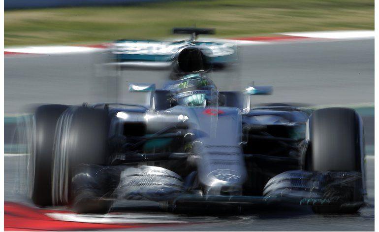 Rosberg el más veloz al inicio de 2da tanda de pretemporada