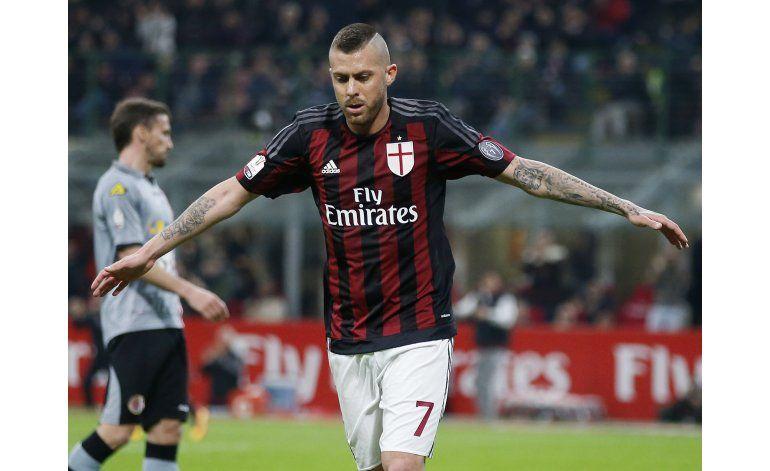 Milan tritura al Alessandria y es finalista de Copa Italia