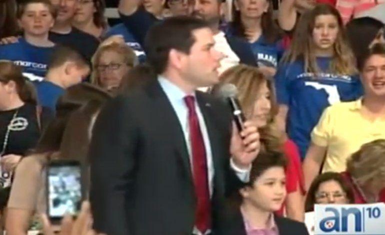 Senador Marco Rubio realizó acto de campaña en el Tropical Park