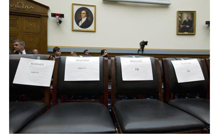 Pelea entre Apple y el FBI por encriptación va al Congreso