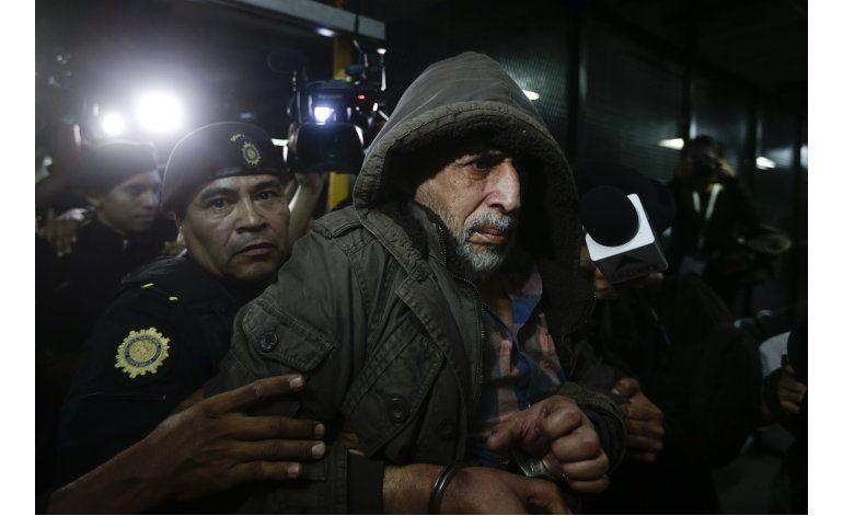 Expresidente de federación de Guatemala, libre bajo fianza