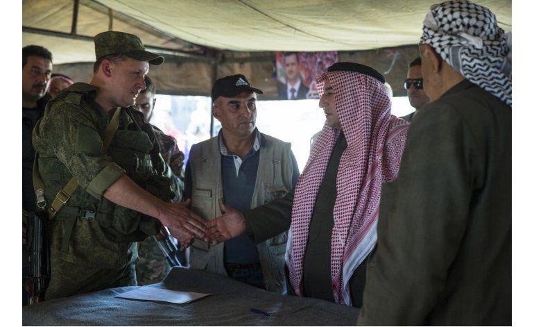 EEUU busca corregir línea telefónica sobre tregua en Siria