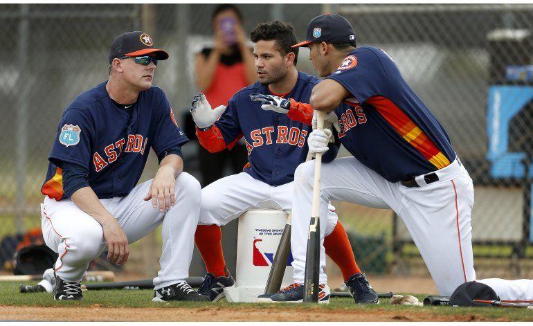 Altuve busca ayudar a que Astros superen el éxito de 2015