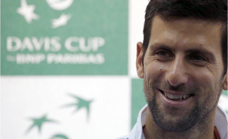 Djokovic abrirá por Serbia contra Kazajistán en la Davis