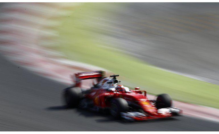Kimi Raikkonen el más rápido en pruebas de F1
