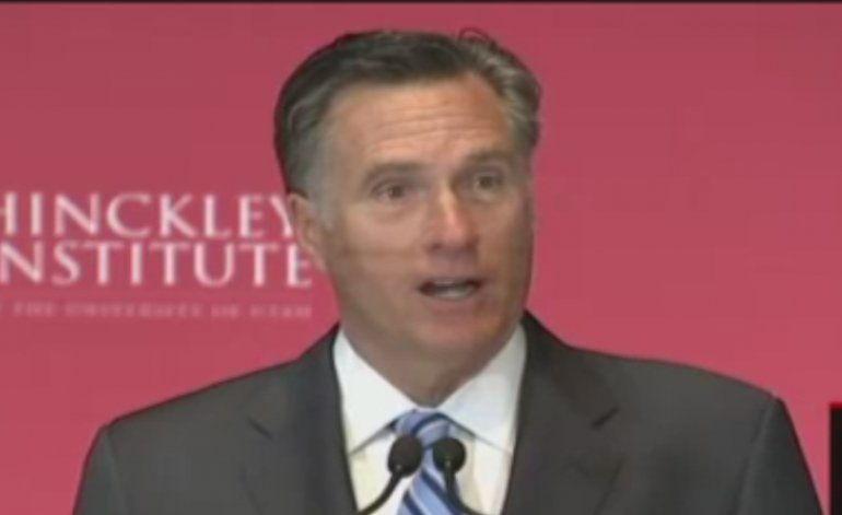 Mitt Romney criticó fuertemente a Donald Trump
