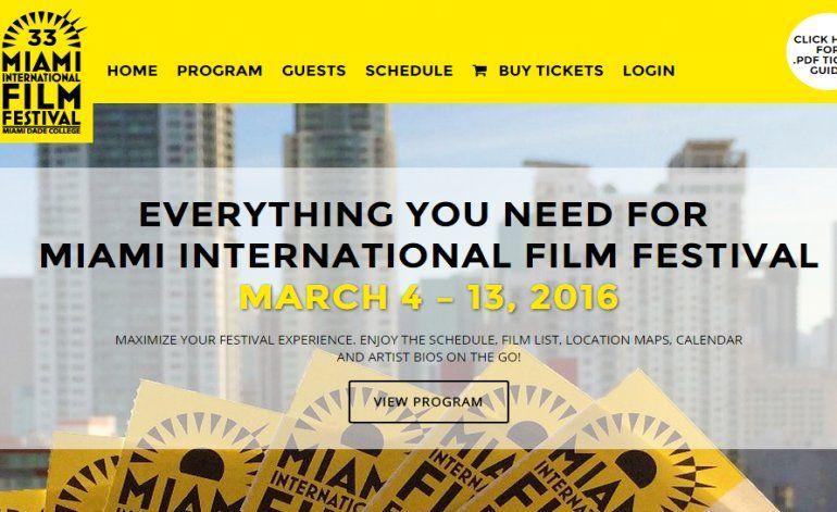 Inicia este viernes el Festival Internacional de Cine de Miami